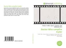 Bookcover of Doctor Who campfire trailer