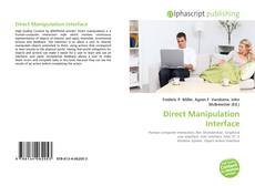 Bookcover of Direct Manipulation Interface