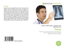 Couverture de Thorax