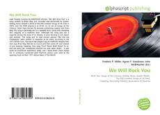 Bookcover of We Will Rock You