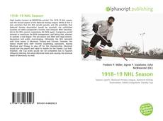 Bookcover of 1918–19 NHL Season