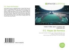 Capa do livro de F.C. Paços de Ferreira