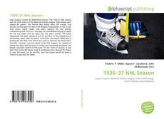 Обложка 1936–37 NHL Season
