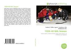 Portada del libro de 1939–40 NHL Season