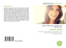 Lauren Helm kitap kapağı