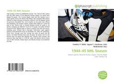 Portada del libro de 1944–45 NHL Season