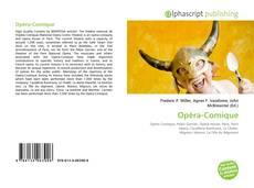Обложка Opéra-Comique