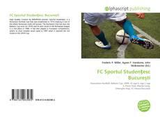 Обложка FC Sportul Studenţesc Bucureşti