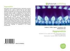Borítókép a  Hygrométrie - hoz