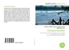 Bookcover of François Duvalier