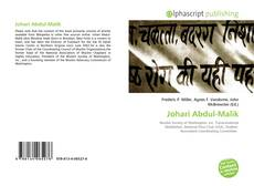 Johari Abdul-Malik kitap kapağı