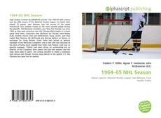 1964–65 NHL Season的封面