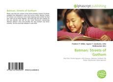 Copertina di Batman: Streets of Gotham
