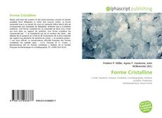 Bookcover of Forme Cristalline