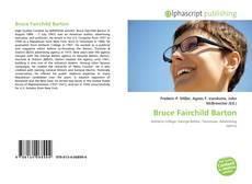 Bookcover of Bruce Fairchild Barton