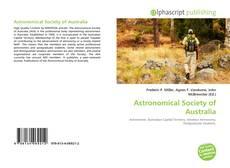 Couverture de Astronomical Society of Australia