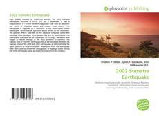 Bookcover of 2002 Sumatra Earthquake