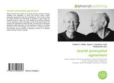 Copertina di Jewish prenuptial agreement
