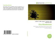 Couverture de Elsa Bloodstone