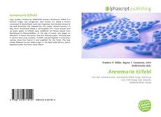Bookcover of Annemarie Eilfeld