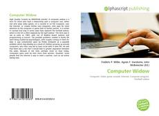 Borítókép a  Computer Widow - hoz