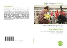 Bookcover of Neo-Stalinism