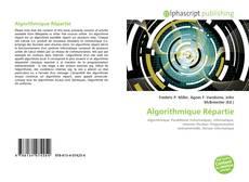 Algorithmique Répartie的封面