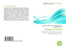 Oméga de Chaitin kitap kapağı