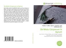 Bookcover of De Motu Corporum in Gyrum