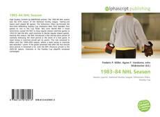 1983–84 NHL Season的封面
