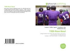 Bookcover of 1986 Rose Bowl