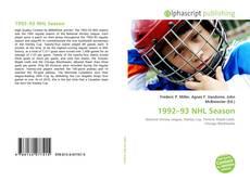 Copertina di 1992–93 NHL Season