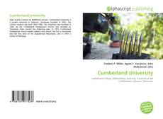 Couverture de Cumberland University