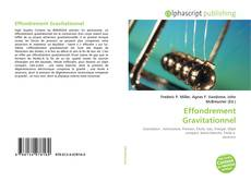 Buchcover von Effondrement Gravitationnel