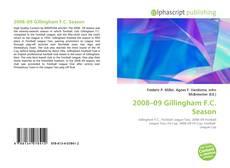 Bookcover of 2008–09 Gillingham F.C. Season
