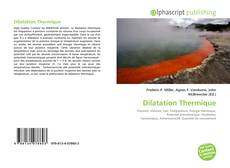 Couverture de Dilatation Thermique