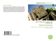 Bookcover of Manon Barbeau