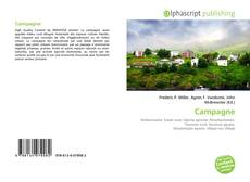 Bookcover of Campagne
