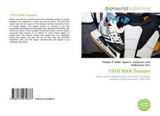 Bookcover of 1910 NHA Season