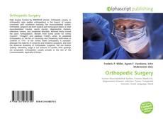Orthopedic Surgery的封面