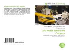 Bookcover of Ana María Romero de Campero