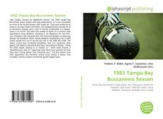 Bookcover of 1983 Tampa Bay Buccaneers Season