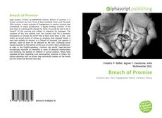 Bookcover of Breach of Promise