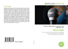Bookcover of Voice Type