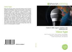Buchcover von Voice Type