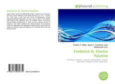 Bookcover of Frederick III, Elector Palatine