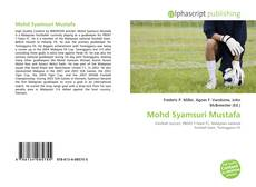 Couverture de Mohd Syamsuri Mustafa