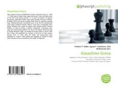 Bookcover of Gioachino Greco