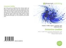 Bookcover of Antonina Liedtke