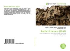 Bookcover of Battle of Havana (1762)